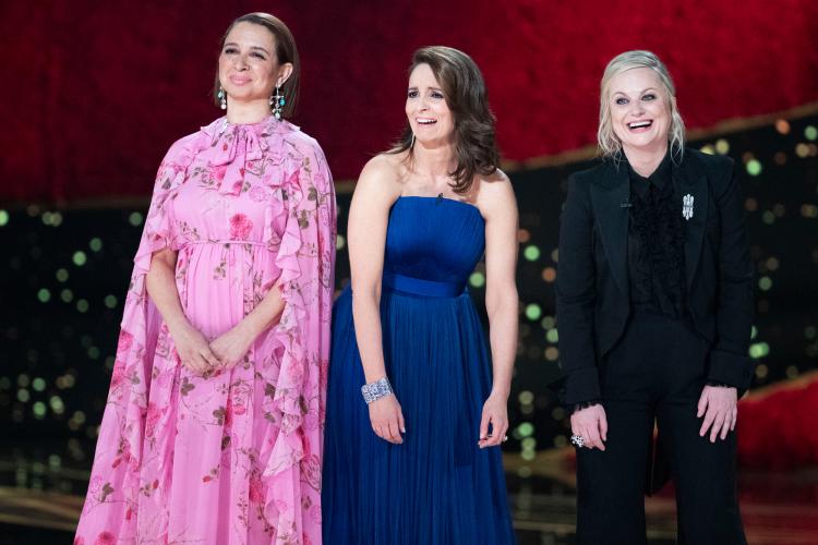 Maya Rudolph, Tina Fey, Amy Poehler Oscars 2019 Craig Sjodin