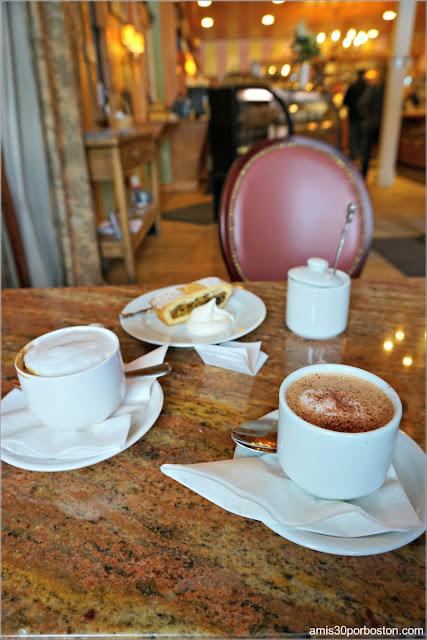 Chocolate y Café de L.A. Burdick en Walpole, New Hampshire