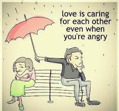 Love is Caring DP for Whatsapp