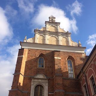 lublin castle courtyard