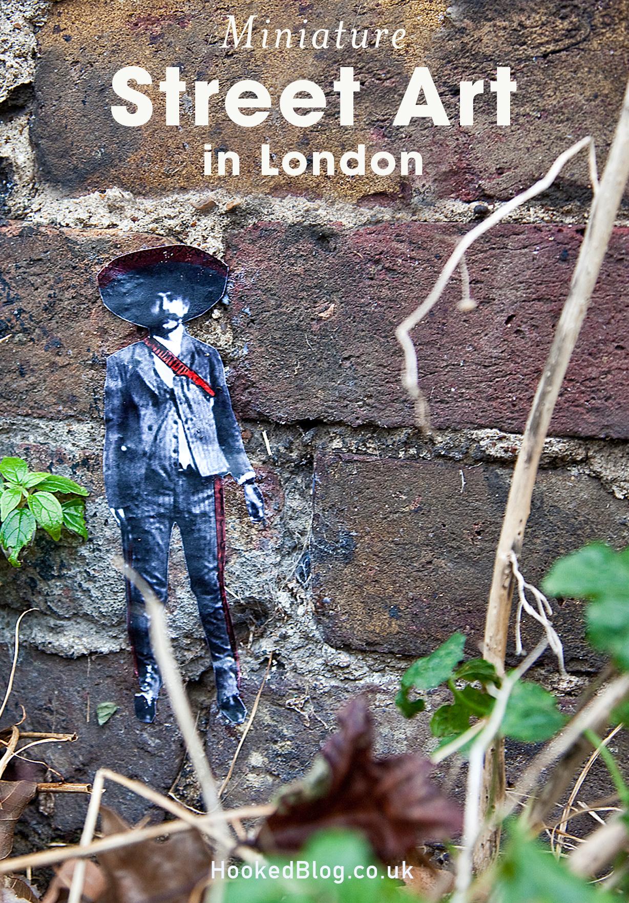 Mexican Street Art in London by artist Pablo Degado