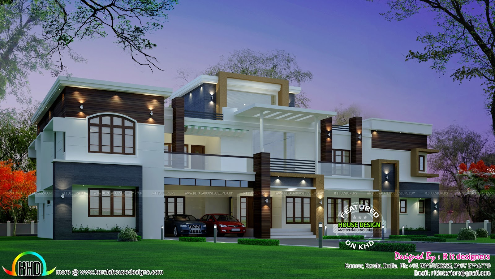 February 2016 kerala home design and floor plans for New style home design