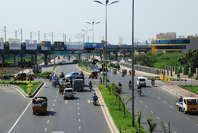 Road in Vellore
