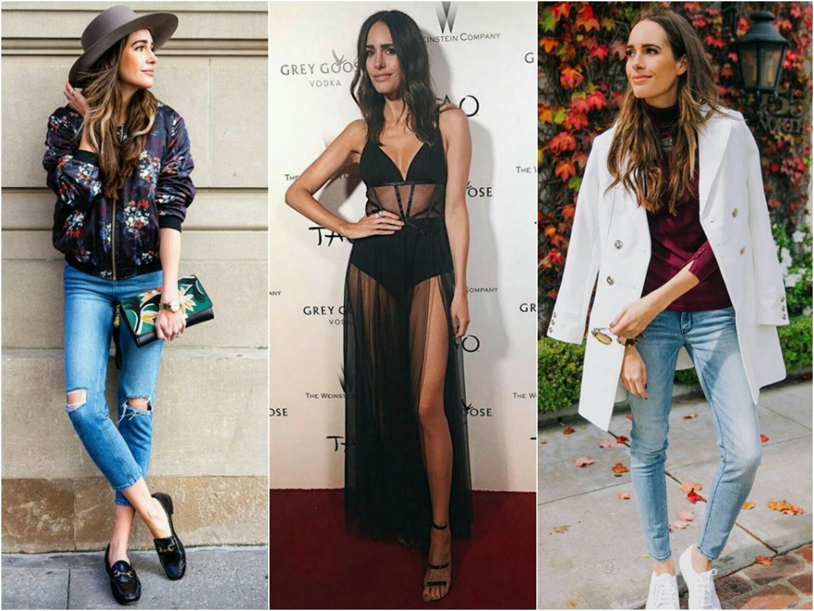 Fashion blogger Louise Roe