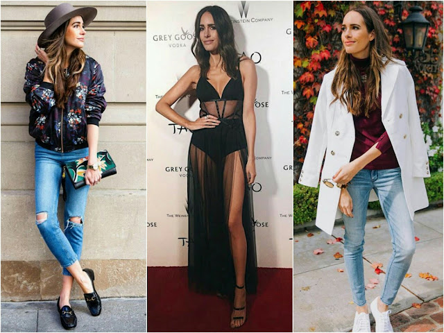 Fashion blogger Louise Roe