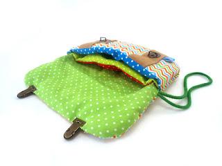 tissu à pois multicolore