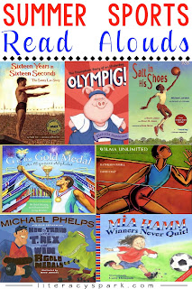 Read alouds perfect for the summer olympics.