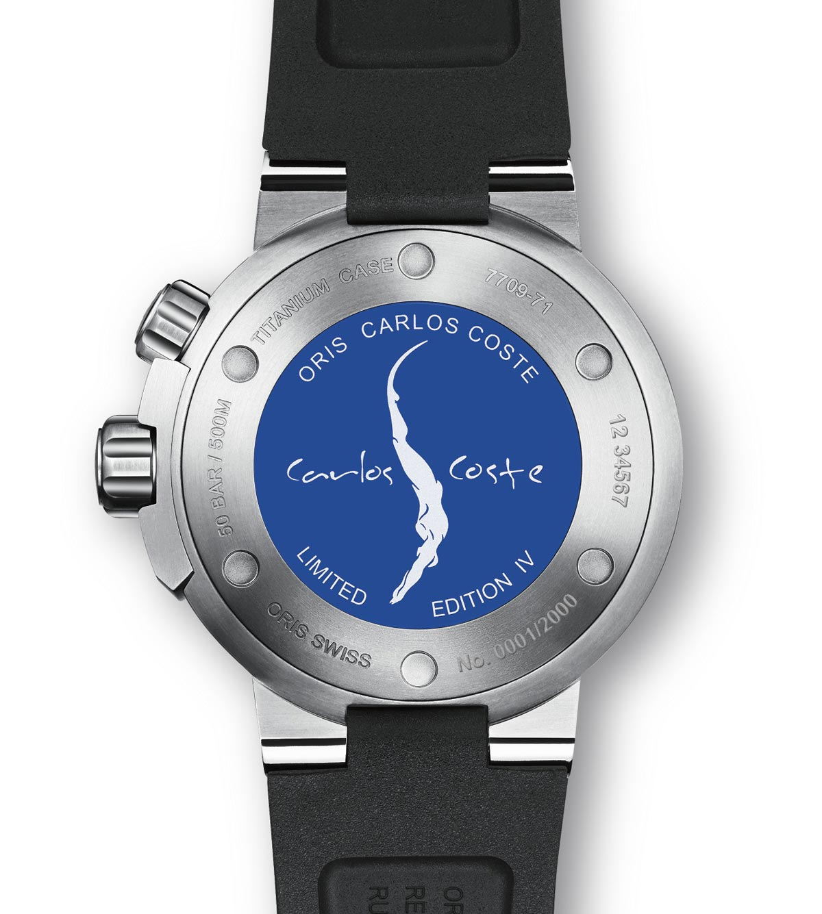 Oris Carlos Coste Limited Edition Iv Time And Watches