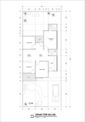desain rumah luas tanah 80 meter persegi - sekitar rumah