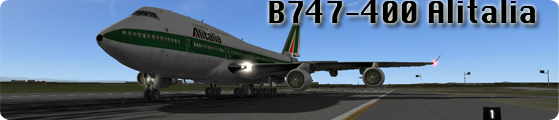 Loreair blog e tutorial - Italia -: B747-400 ALITALIA