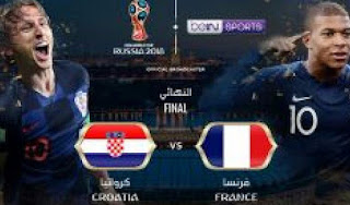 أهداف مباراة فرنسا و كرواتيا