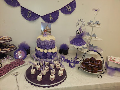 Nana S Theme Party Quot Sofia The First Party Quot
