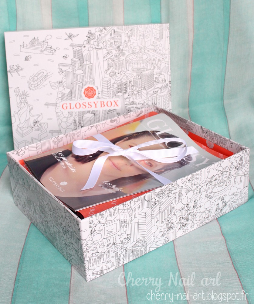 glossybox septembre 2015 rock the city