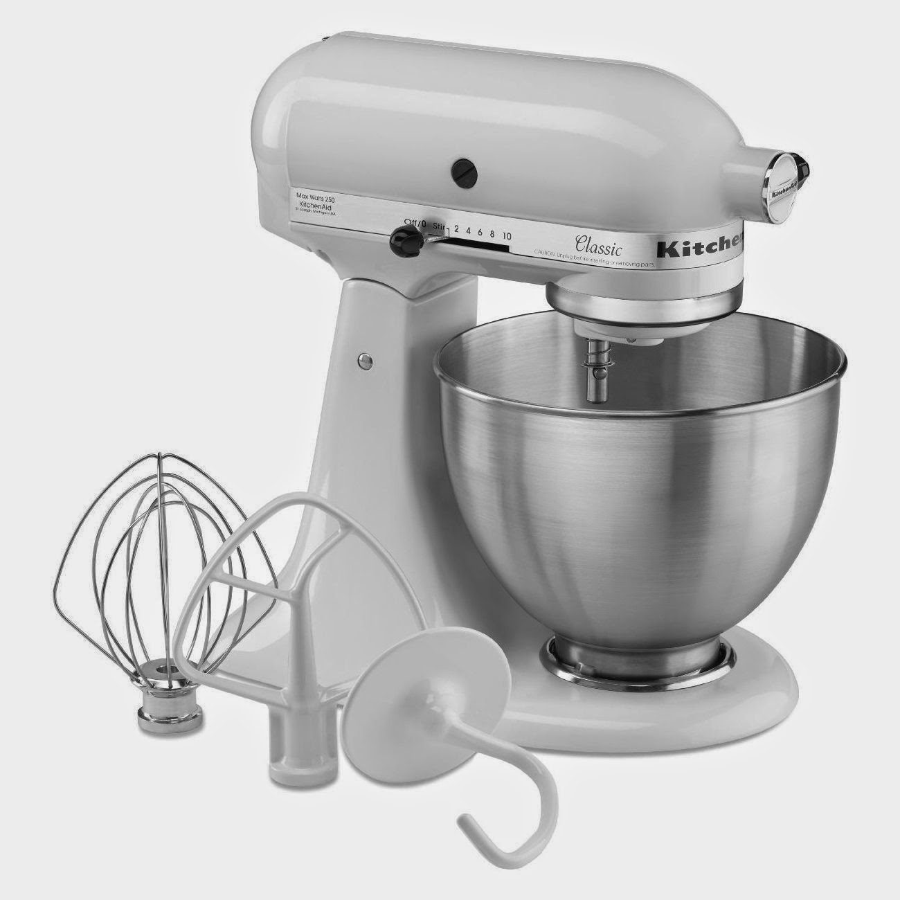 Kitchen Aid Mixer Reviews Outdoors Home Garden And More Kitchenaid K45sswh K45ss Classic 4