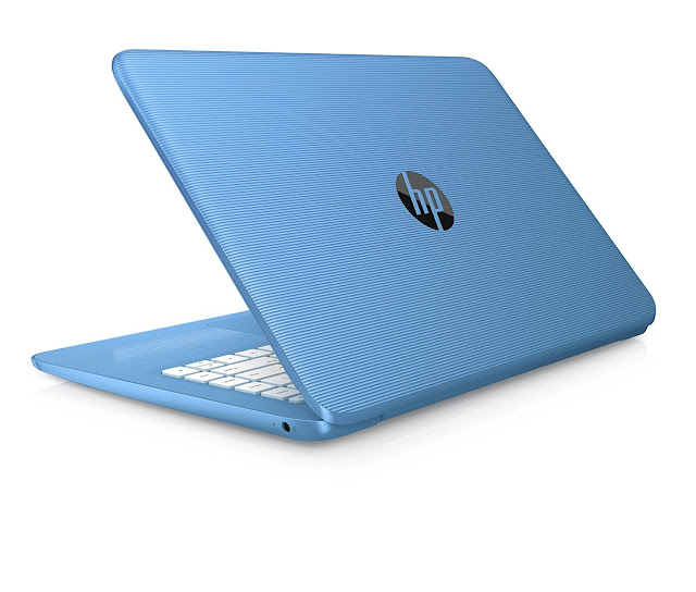 HP Stream 14-ax010nr Aqua Blue