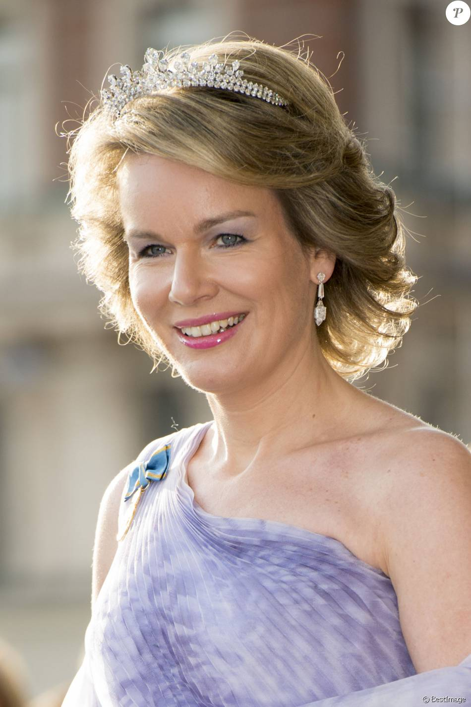 Queen Mathilde Jewels Wolfers tiara