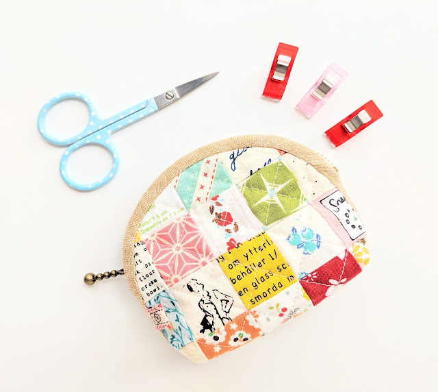 Retro Mama Notions Pouch by Heidi Staples for Fabric Mutt