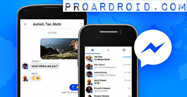 تحميل تطبيق Messenger Lite