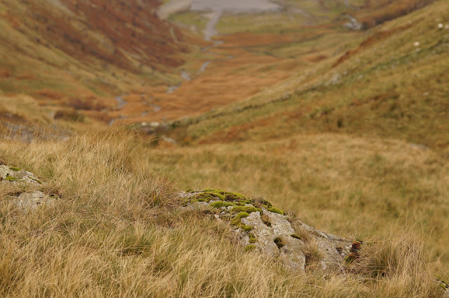 walking from Haweswater in the Lake District
