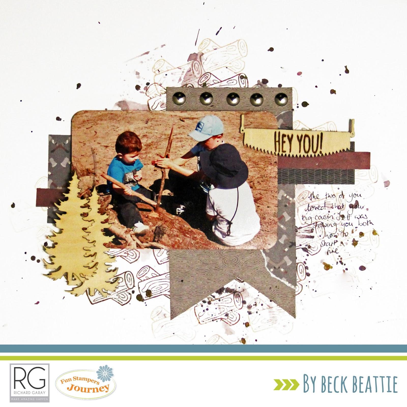 Beck BT: Creative Fun with RG Lumberjack Days collection