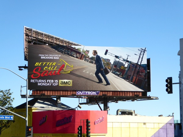 Better Call Saul season 2 billboard