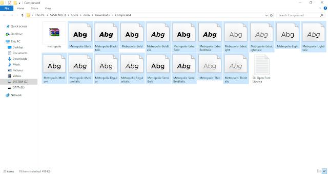 Cara Menambahkan Font di Windows