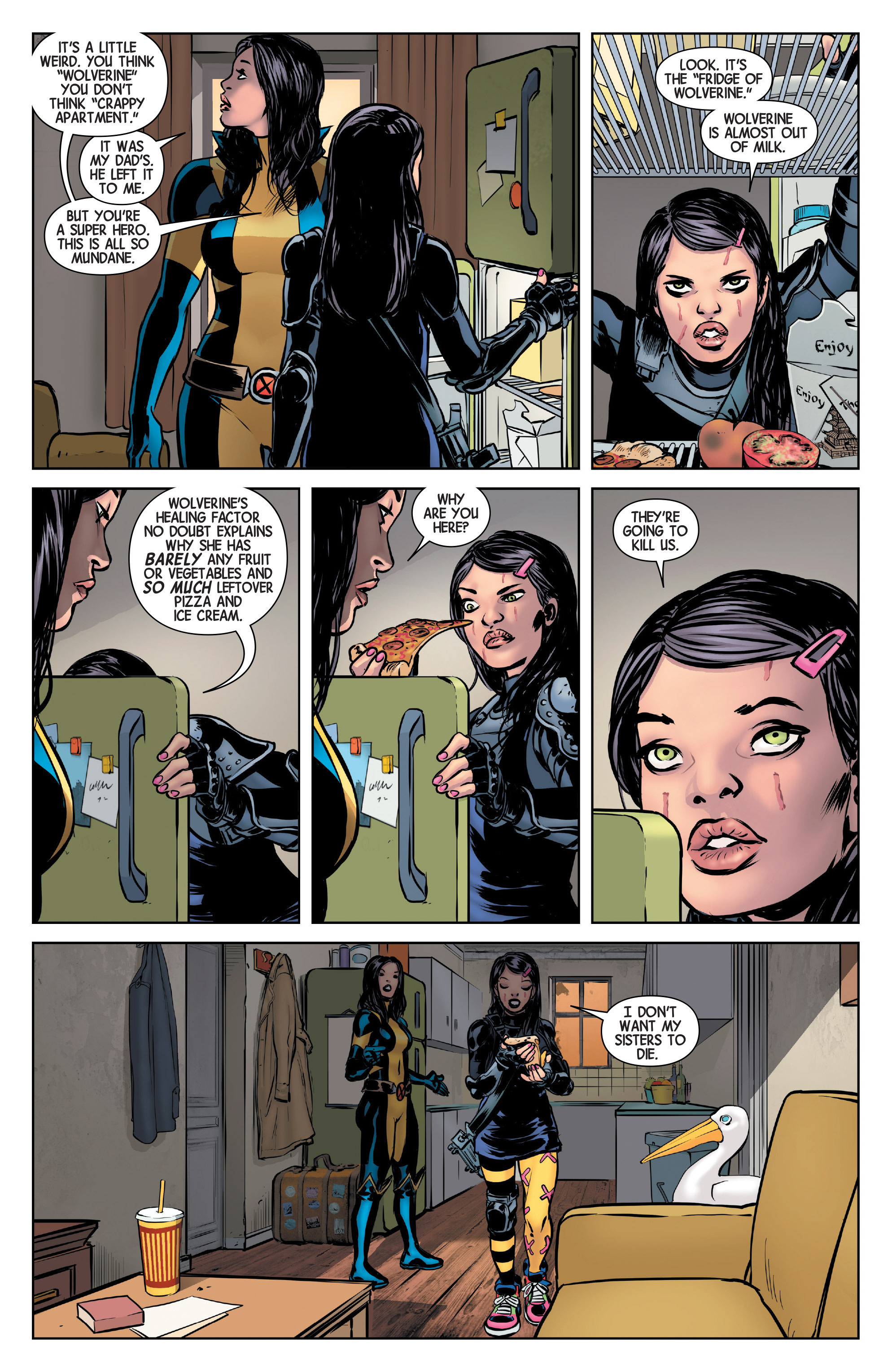 Read online All-New Wolverine (2016) comic -  Issue #2 - 12
