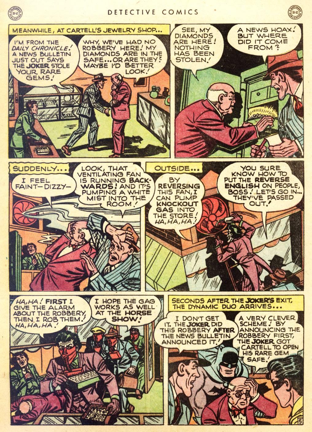 Read online Detective Comics (1937) comic -  Issue #128 - 7