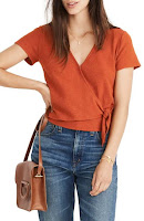 Nordstrom madewell Texture & Thread Top
