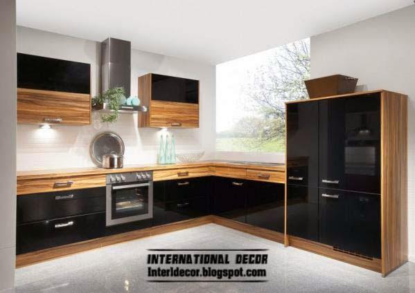 unique black kitchen design black orange kitchen design ideas small modern kitchen design ideas remodel pictures houzz