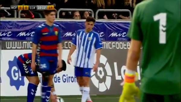 El Málaga gana por la mínima al KAS Eupen en el Torneo MIC (1-0)