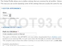 Mengatasi CKEditor Yang Tidak Tampil di Drupal