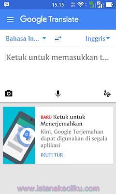 Google translate: Cara Menggunakan Kamera Smartphone Anda untuk Menerjemahkan Bahasa Secara Instan