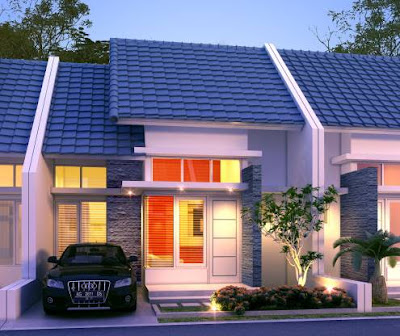 Contoh Foto Desain Rumah Minimalis 1 lantai Type 36