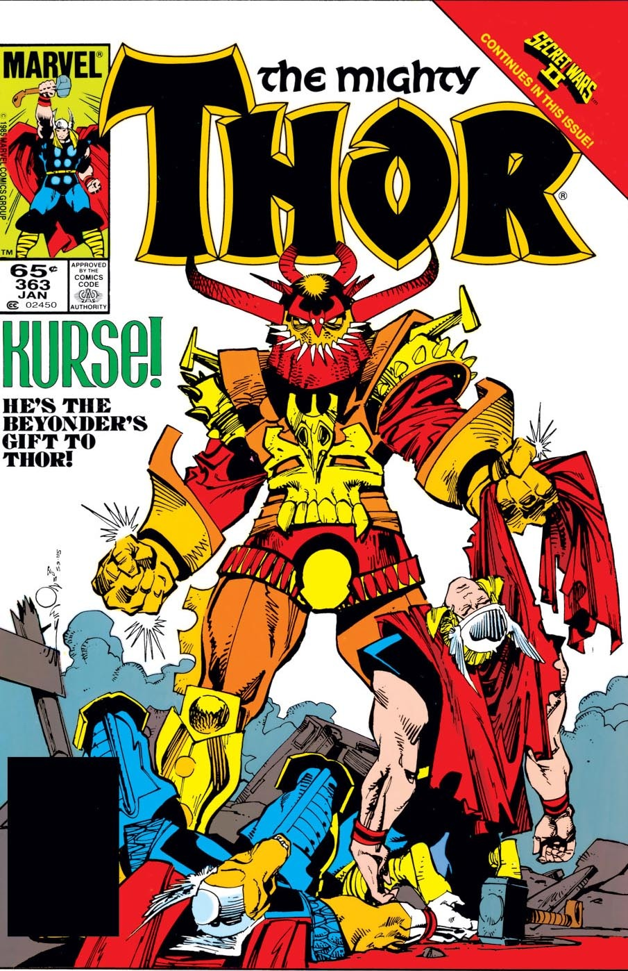 Thor (1966) 363 Page 1
