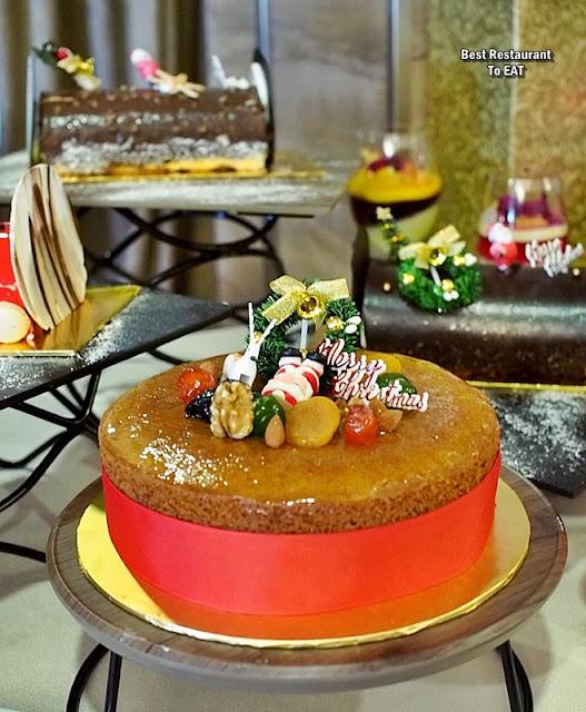 Wild Rice Restaurant Christmas 2019 Dessert Menu - Christmas Cake
