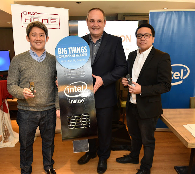 PLDT HOME unveils new TVolution Stick by Intel