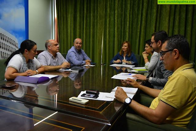 Nieves Lady Barreto renueva las áreas de gobierno del Cabildo para dar impulso a los nuevos retos sociales y económicos de La Palma