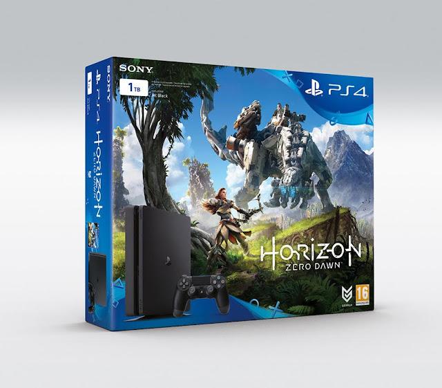 Se anuncia pack de PS4 con el videojuego Horizon Zero Dawn, y se presentan sus ediciones especiales 1