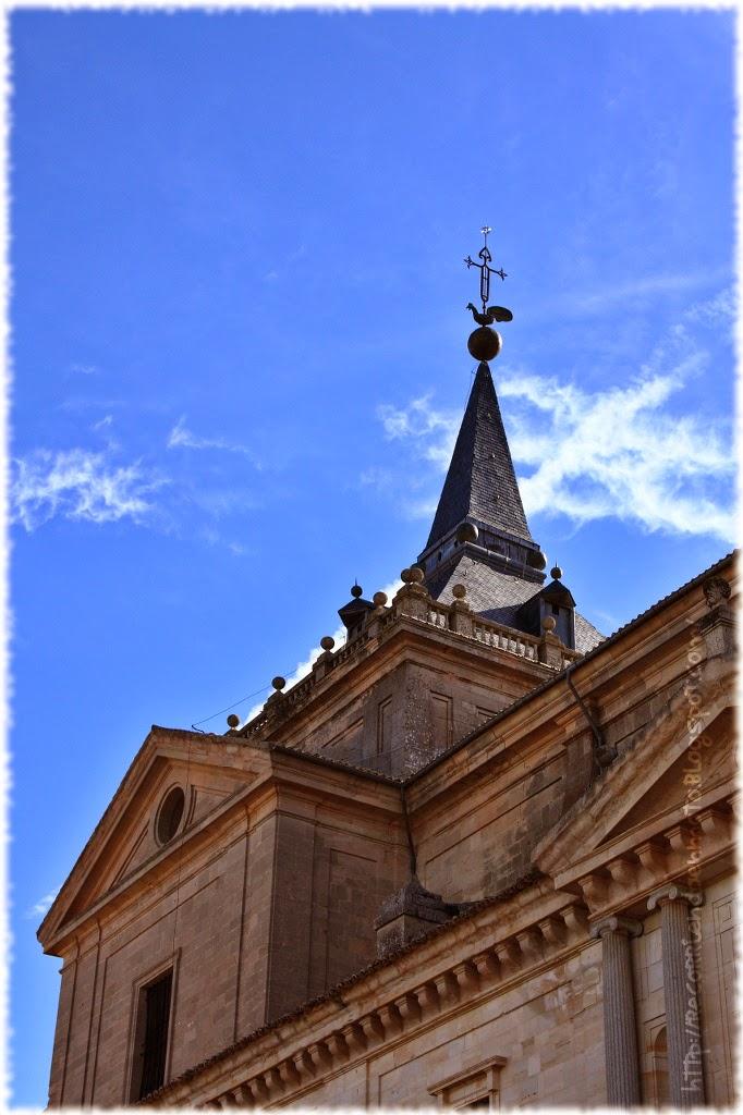 Detalle iglesia monasterio de Uclés