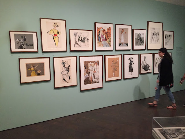 Viewing the Jim Howard Fashion Exhibition at the Denver Art Museum