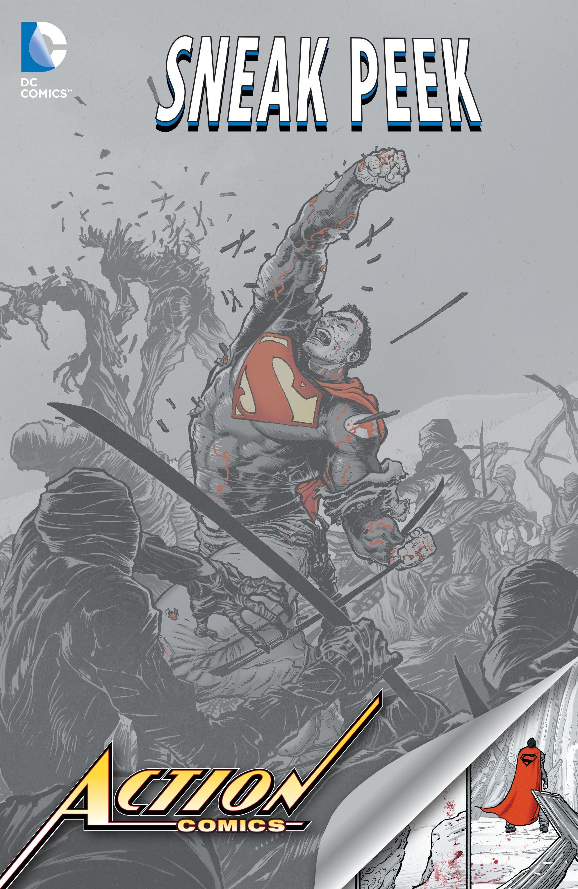 DC Sneak Peek: Action Comics Full Page 1