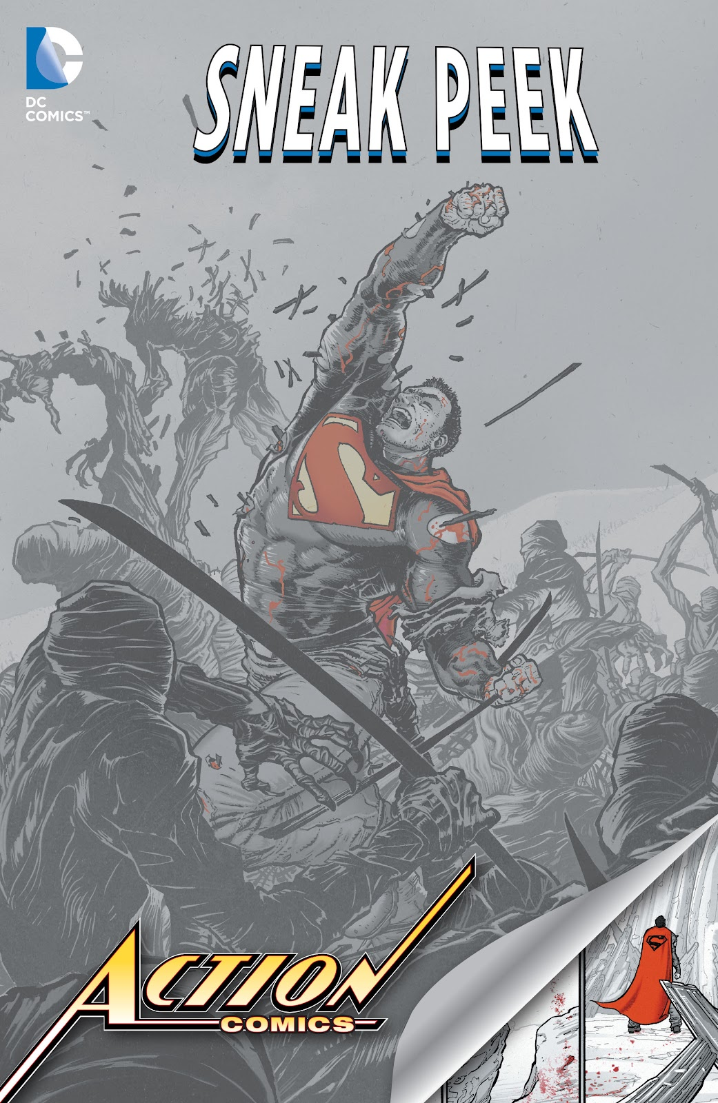 Read online DC Sneak Peek: Action Comics comic -  Issue # Full - 1
