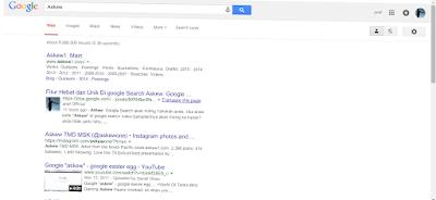 """Fitur Askew Google"""