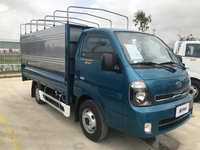 Xe tải 2,4 tấn trường hải K250 thùng bạt