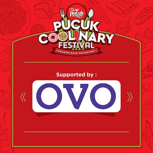 #OVO - #Promo Cashback 50% Pakai OVO di Pucuk Coolinary Festival Yogyakarta (s.d 31 Maret 2019)