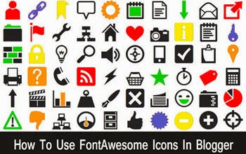 Font Awesome Icons in Blogger