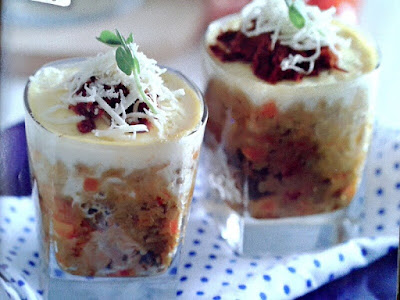 Gambar Resep Puding Nasi Abon Kari Daging Sapi