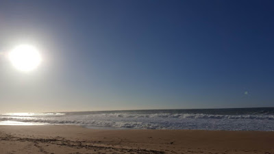 (Almost) Wordless Wednesday - the beach in January