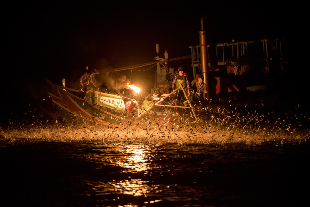 Jinshan Sulphuric Fire Fishing